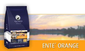 Wolfsmond Ente Orange